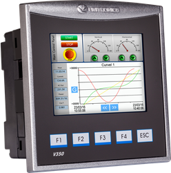 "V350 Series PLC/Color Touchscreen HMI (3.5"" display)"
